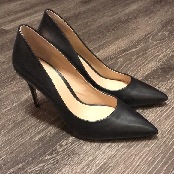 4b40dc0b704 Aldo Shoes - Aldo Uloaviel Black Leather Classic Pump Heel